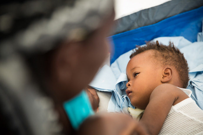 Cholera strikes young and old. Please pray for our medical team and for their patients.