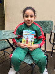 Operation Christmas Child Luciana with The Greatest Gift booklet