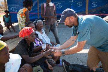 Haiti cholera clinic