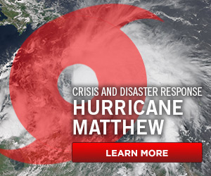 Hurricane Matthew - Donate Now