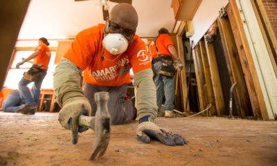 North Carolina Flood Hurricane Matthew: Felton Dickens Jr. worked on the home of his lifelong mentor, James Horne.