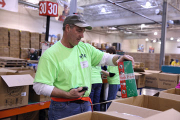 Charlotte Operation Christmas Child Processing Center