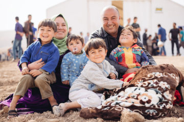 Ammar, Muna, and their boys are free from ISIS now, but still face challenges in their camp.