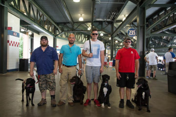 Service dogs are an important part of life and healing for wounded military veterans.