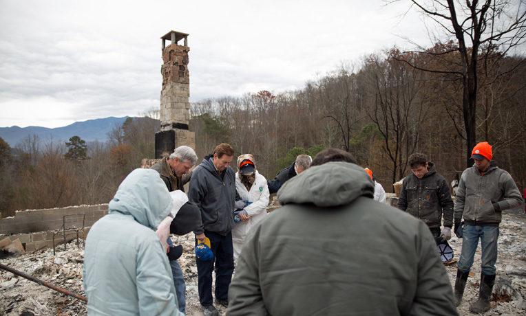 Gatlinburg, Tennessee, wildfire relief