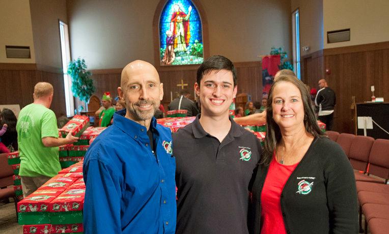 Operation Christmas Child year-round volunteers