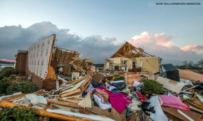 Violent storms shredded homes in Georgia. Pray for affected homeowners there and across the South.