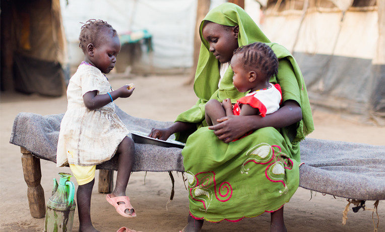 God has positioned Samaritan's Purse to feed hundreds of thousands of people in Africa or elsewhere who are on the brink of starvation because of drought or war. For $35 per family, we can deliver a month's supply of sorghum, lentils, or other staples in the Name of Jesus Christ.