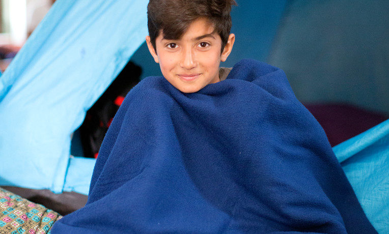 """For $6, we can provide a blanket or other bedding to a child or a family who need an encouraging reminder of how much the Lord cares for them. """"And God will wipe away every tear from their eyes"""" (Revelation 21:4)."""