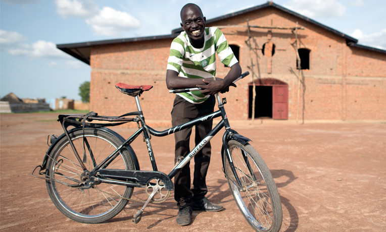 Samaritan's Purse provides preachers with sturdy bicycles, motorbikes, or other transportation so they can travel even where roads don't go. For $100 we can give a bike to an evangelist to bring the Good News of Jesus Christ to people who have not heard it before.