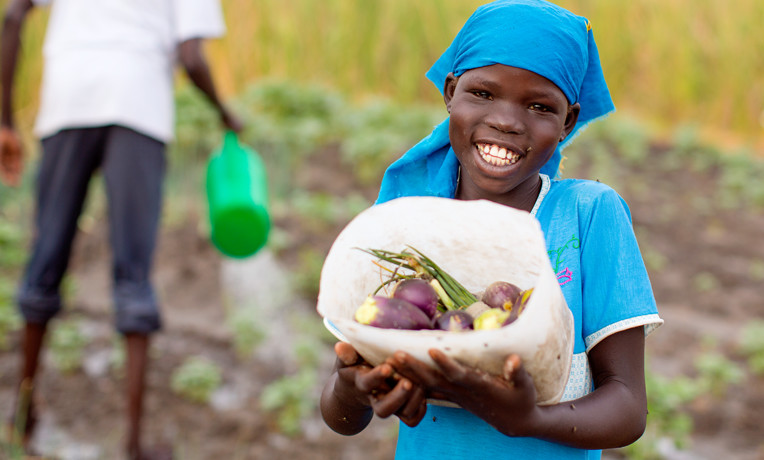 Working through churches and local Christian partners, Samaritan's Purse provides farmers with seeds and tools that are appropriate for the particular soil and climate where they live. For a gift of $55, we can supply drought-resistant plants, fertilizer, tools, and training for gardeners and farmers as we sow seeds for the Gospel.