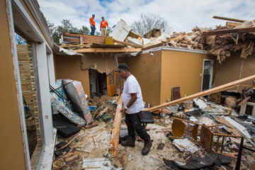 Samaritan's Purse is helping the Paytons recover after a tornado roared through the Crescent City.