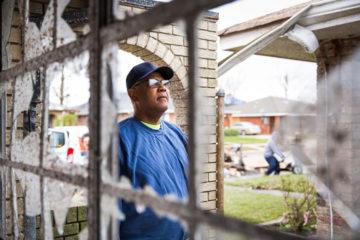 With his eyes on God, homeowner Greg Jones has overcome health struggles, Hurricane Katrina, and now an EF3 tornado.