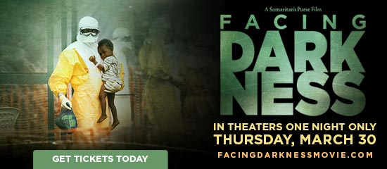 Facing the Darkness in Theaters One Night Only - Thursday, March 30