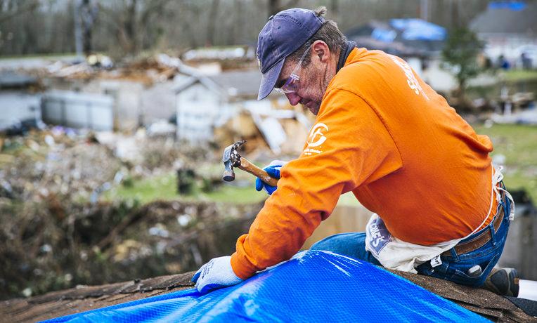 Samaritan's Purse volunteers served more than 130 homeowners in New Orleans East.