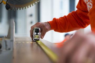 Precise measurements are critical to rebuilds.
