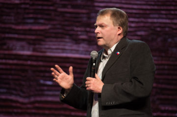 Texas State Senator Brian Birdwell, a veteran and survivor of the 9/11 terror attack on the Pentagon, gave his testimony to God's comfort in terrible circumstances.