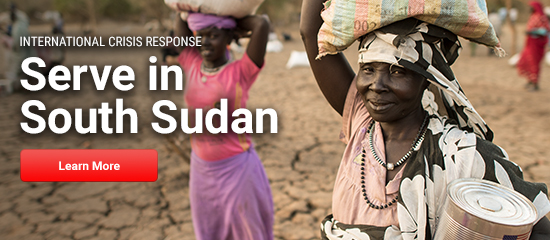 Serve in South Sudan