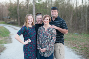 Ward, Amy, and their daughters live in Jacksonville, NC near Marine Base Camp Lejeune