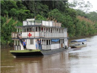 Our Ruth Bell Riverboat ministry provides remote Bolivian communities along the Amazon River with medical and dental care, as well as opportunities to hear the Gospel.
