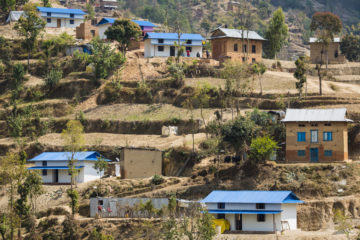 Samaritan's Purse has rebuilt dozens of homes in the village of Dalits.