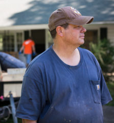 Homeowner Scott Smith has clung to the promise of Matthew 6 not to worry because God will meet every need.