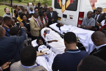 The three survivors of the Tanzania bus crash received much media attention before leaving their home country.