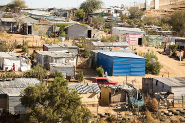 """Babylon is part of Katutura which means """"the place nobody wants to stay."""""""