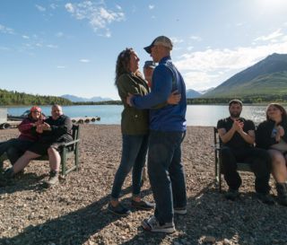 Military couples came away refreshed after a week at Samaritan Lodge Alaska through Operation Heal Our Patriots. Some couples, including Marine Corporal Chad and Lindsey Hiser, publicly renewed their marriage vows.