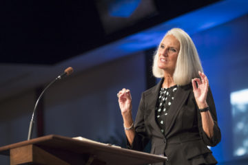"From Isaiah 6, Anne Graham Lotz highlights the ""position, pre-eminence, power, presence, praise, and purity of Jesus."""