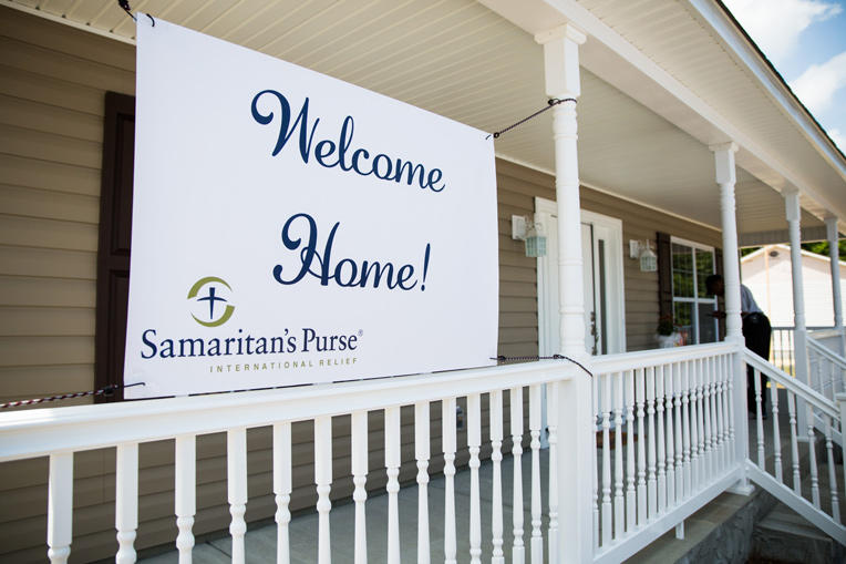 Samaritan's Purse rebuild projects bring families back home after a devastating disaster. More volunteers are still needed in eastern North Carolina.