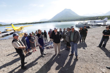 Dr. James Dobson joined Franklin Graham in celebrating healed hearts and marriages at Samaritan Lodge Alaska.