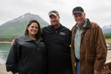 Samaritan's Purse President Franklin Graham met Marine Corporal Cody Jones and his wife Alexis at Samaritan Lodge last week.