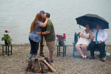 Army Sergeant Ray Nuckoles and his wife Amanda rededicated their marriage while in Alaska.