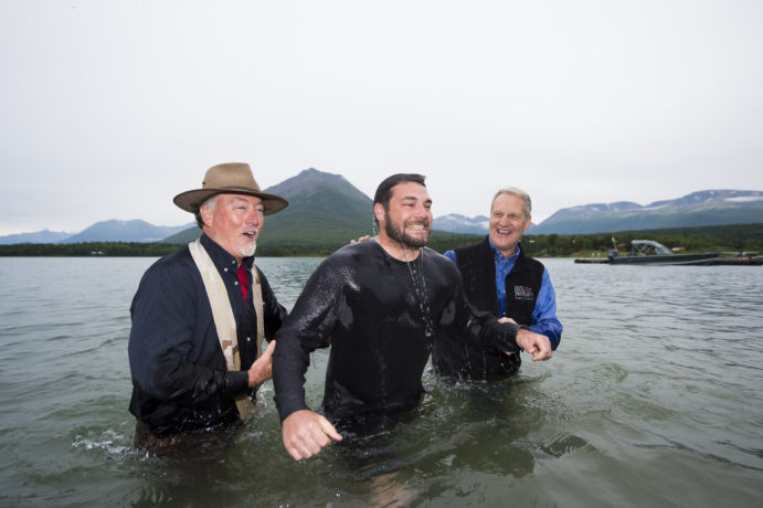 Devin and Joanna were among six people who were baptized in Lake Clark during Week Six of Operation Heal Our Patriots. Please continue to pray that many husbands and wives will come to know Jesus Christ as their Lord and Savior.