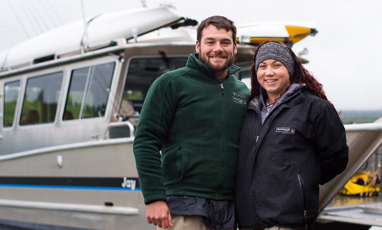 Marine Lance Corporal Devin Kyle and his wife Joanna were among the 10 military couples who participated in Week Six of Operation Heal Our Patriots. During their time in Alaska, Devin and Joanna both prayed to receive Jesus Christ as their Lord and Savior.