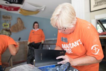 Every homeowner we help receives a Bible signed by volunteers who worked on their home.