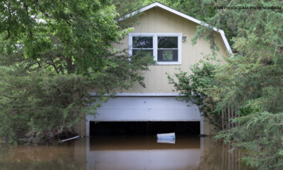 Flooding has caused major damage in southern Wisconsin. The town of Burlington was hit hard.