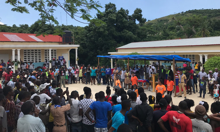 Haiti nutrition fair