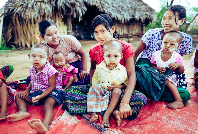 Mother groups in Myanmar
