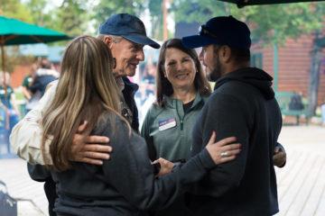 Throughout the week Nancy and Luis met with chaplains Dan and Linda Stephens.