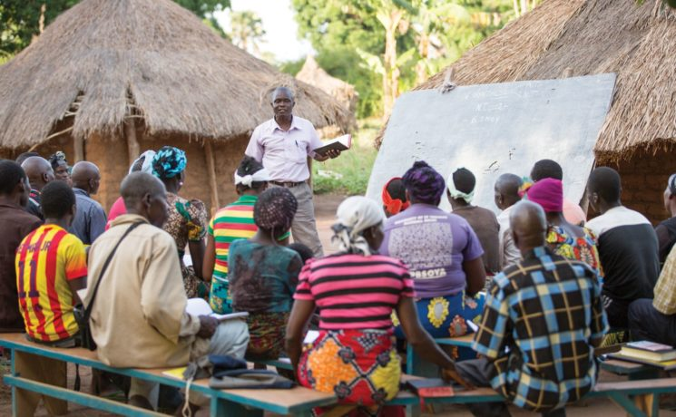 Samaritan's Purse trains preachers and equips church members with evangelistic tools.