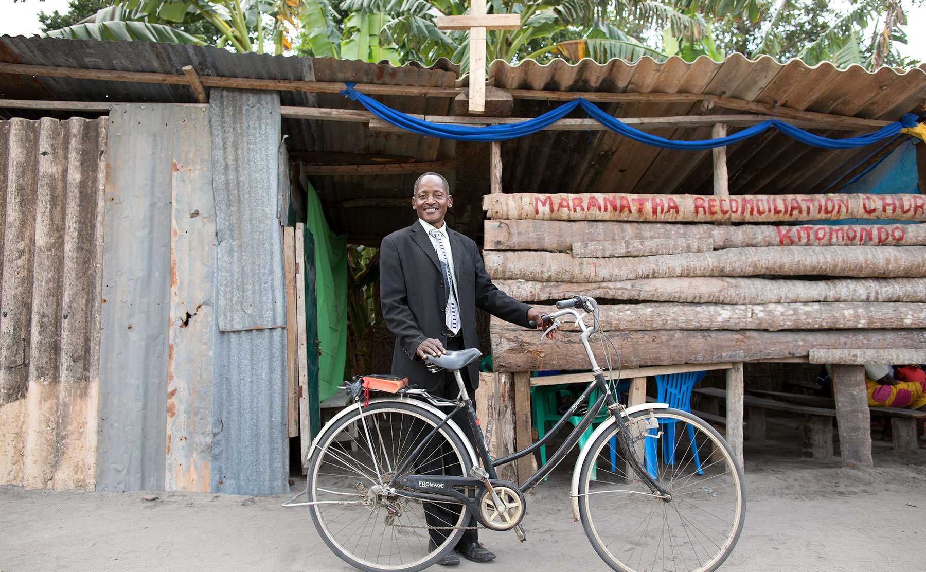 Samaritan's Purse provides bicycles or other vehicles to evangelists so they can reach isolated communities.