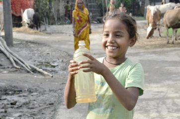 Our teams are providing clean water to children and families in need.