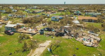 Areas around Rockport, Texas, were destroyed by Hurricane Harvey.