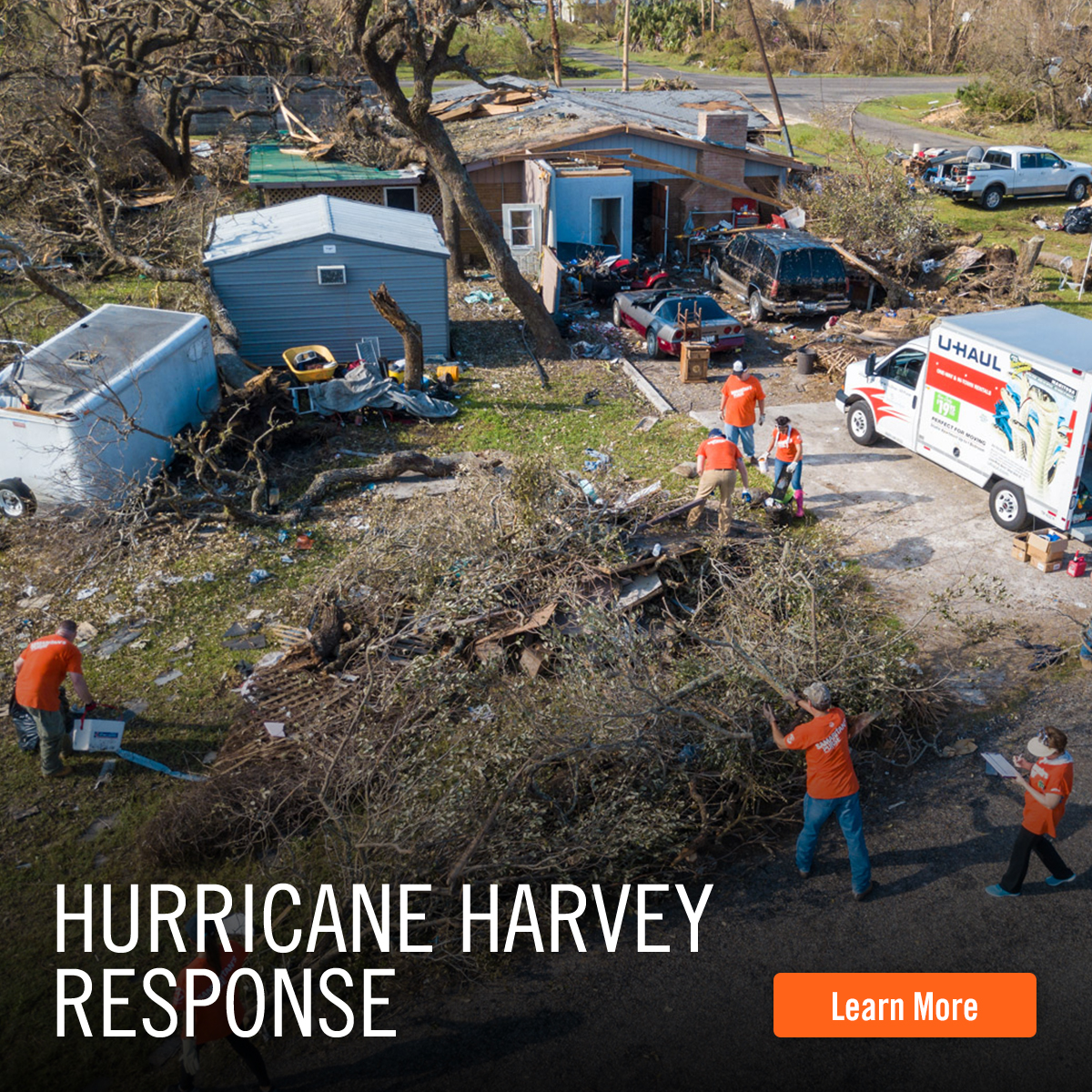 Learn More about our Hurricane Harvey Response