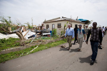 Franklin Graham saw firsthand the terrible devastation that Hurricane Irma brought to Barbuda.