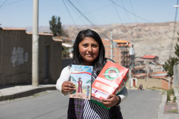 Rebeca plans to use The Greatest Gift booklet in sharing the Gospel with her friends.