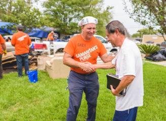 Volunteers in Texas