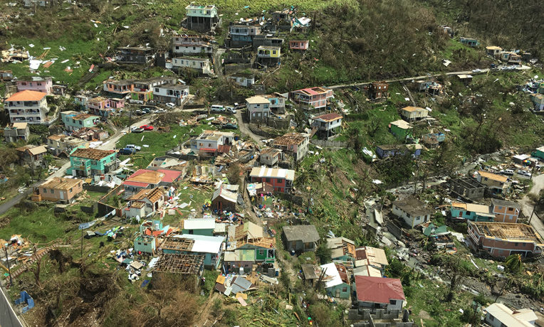 Dominica was devastated by Hurricane Maria.